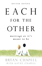 Each for the Other: Marriage As It's Meant…
