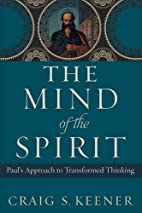 The Mind of the Spirit: Paul's Approach…