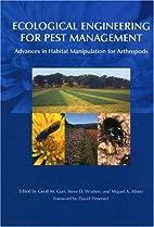 Ecological engineering for pest management :…