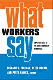 What Workers Say Employee Voice in the Anglo American Workplace