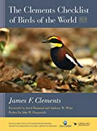 The Clements Checklist of Birds of the World…