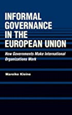 Informal Governance in the European Union:…