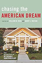 Chasing the American Dream: New Perspectives…