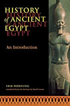 History of Ancient Egypt: An Introduction by…