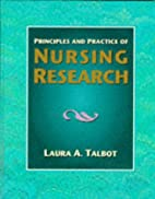 Principles and Practice of Nursing Research…