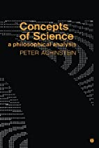 Concepts of Science: A Philosophical…