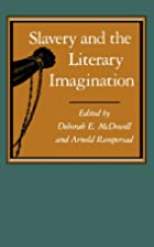 Slavery and the Literary Imagination by…