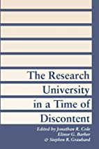 The Research University in a Time of…