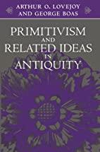 Primitivism and Related Ideas in Antiquity…