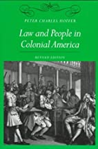 Law and People in Colonial America by Peter…