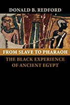 From Slave to Pharaoh: The Black Experience…