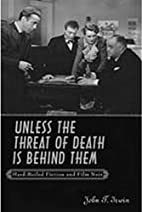 Unless the Threat of Death Is Behind Them:…