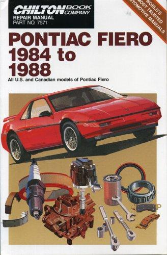 pontiac-fiero-1984-88-chiltons-repair-manual