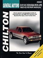 GM S10/S15/Sonoma Pick-Ups 1982-93…