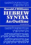 Williams, R.: Hebrew Syntax an Outline
