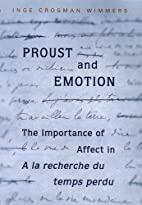 Proust and Emotion: The Importance of Affect…