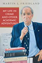 My Life in Crime and other Academic…