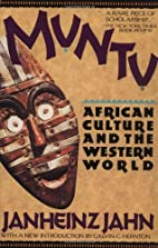 Muntu: African Culture and the Western World…