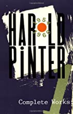 Complete Works, Volume I by Harold Pinter