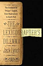 The Lexicographer's Dilemma: The Evolution…