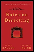 Notes on Directing by Frank Hauser