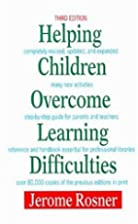 Helping Children Overcome Learning…