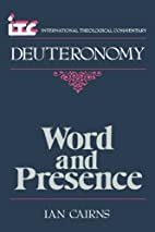 Word and Presence: A Commentary on the Book…