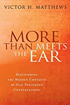More Than Meets the Ear: Discovering the…