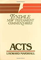 Acts (The Tyndale New Testament…