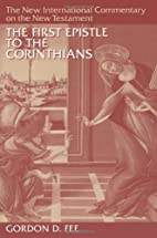 The First Epistle to the Corinthians by…