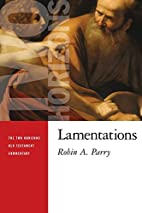 Lamentations by Robin Parry