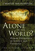Alone in the World?: Human Uniqueness in…