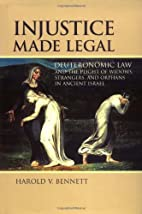 Injustice Made Legal: Deuteronomic Law and…