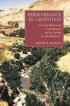Perseverance in Gratitude: A…