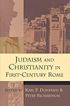 Judaism and Christianity in First-Century…