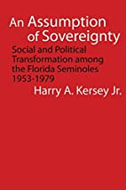 An Assumption of Sovereignty: Social and…
