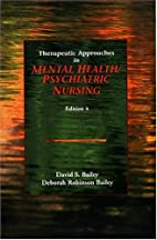 Therapeutic Approaches in Mental Health/…