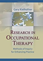 Research in Occupational Therapy: Methods of…