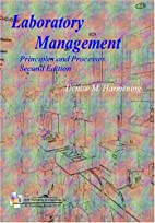 Laboratory Management: Principles and…