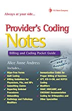 Provider's Coding Notes: Billing &…