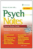 PsychNotes: Clinical Pocket Guide, 2nd…