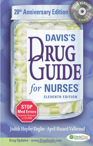 daviss-drug-guide-for-nurses-with-cd-rom