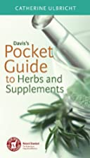 Davis's Pocket Guide to Herbs and…