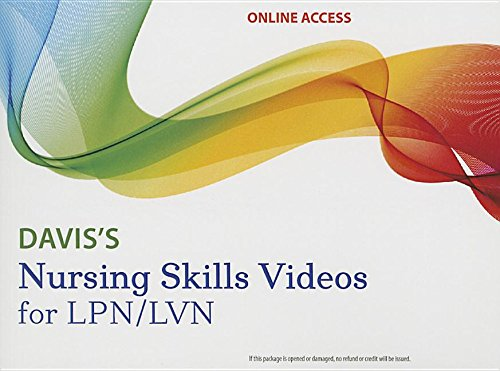 daviss-nursing-skills-videos-for-lpn-lvn-streaming-access-card