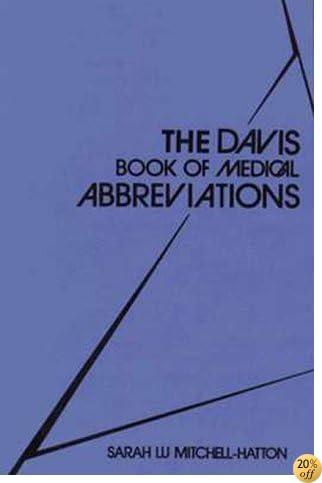 TDavis Book of Medical Abbreviations