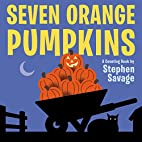 Seven Orange Pumpkins board book by Stephen…