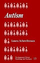 Autism (Developmental Clinical Psychology…