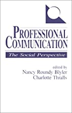 Professional Communication: The Social…