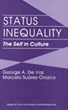 Status inequality : the self in culture by…