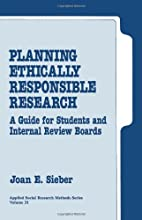 Planning Ethically Responsible Research: A…